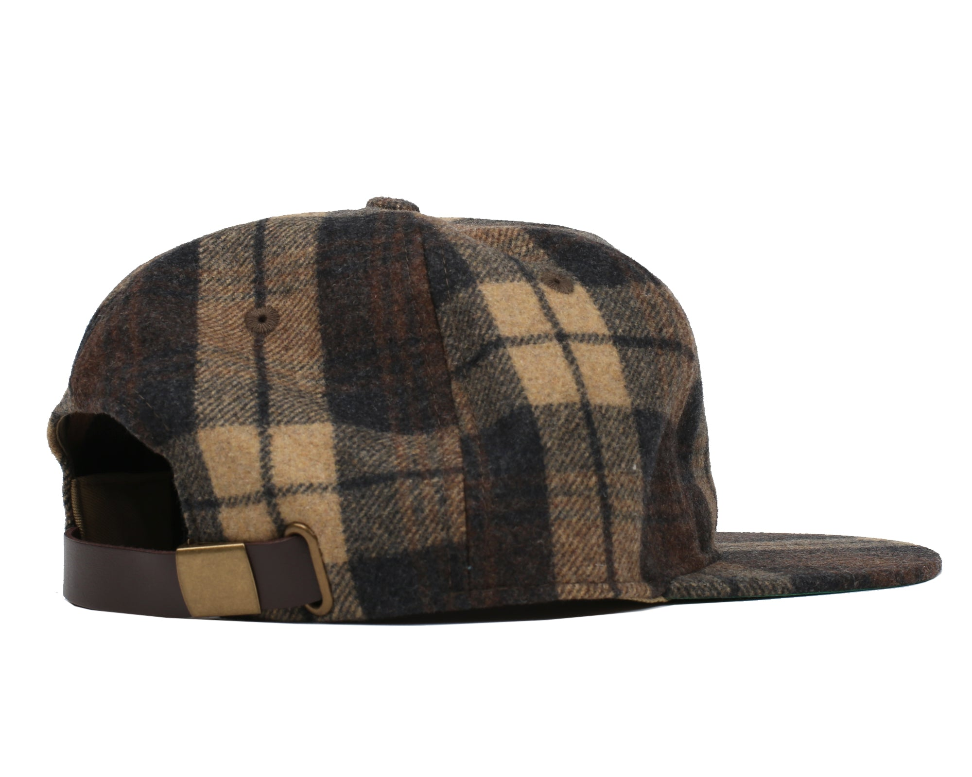 CHECK STANDING ASTRO 6 PANEL CAP - BROWN
