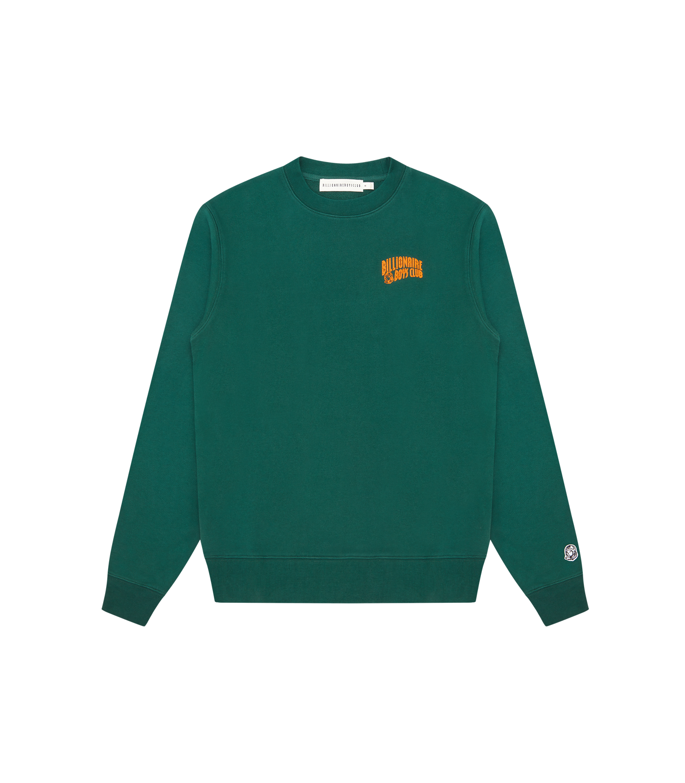 SMALL ARCH LOGO CREWNECK - GREEN