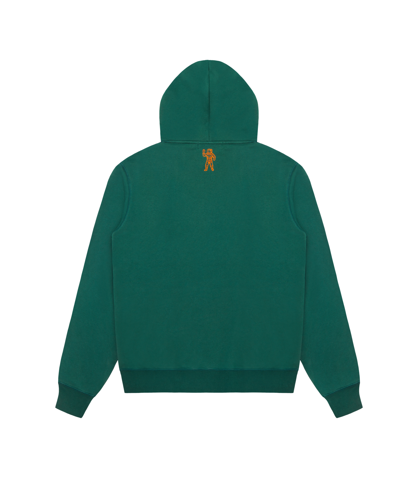 SMALL ARCH LOGO POPOVER HOOD - GREEN