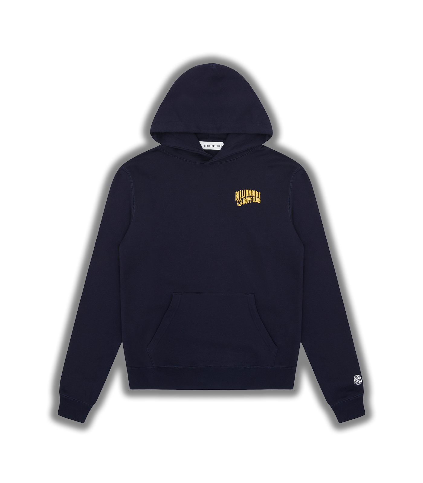 SMALL ARCH LOGO POPOVER HOOD - NAVY