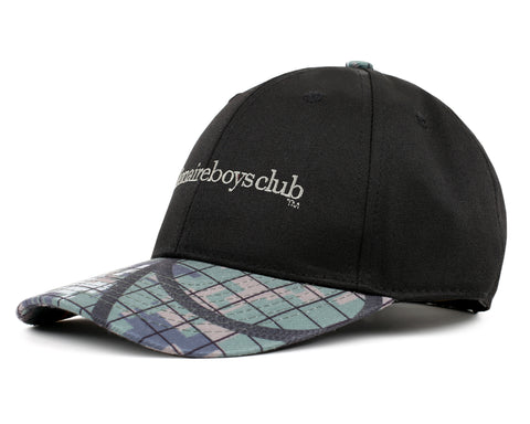 Billionaire Boys Club Fall '18 CLIMBING CAMO PEAK BASEBALL CAP - BLACK