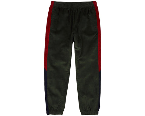 Billionaire Boys Club Fall '18 CORDUROY TRACK PANT - FOREST GREEN