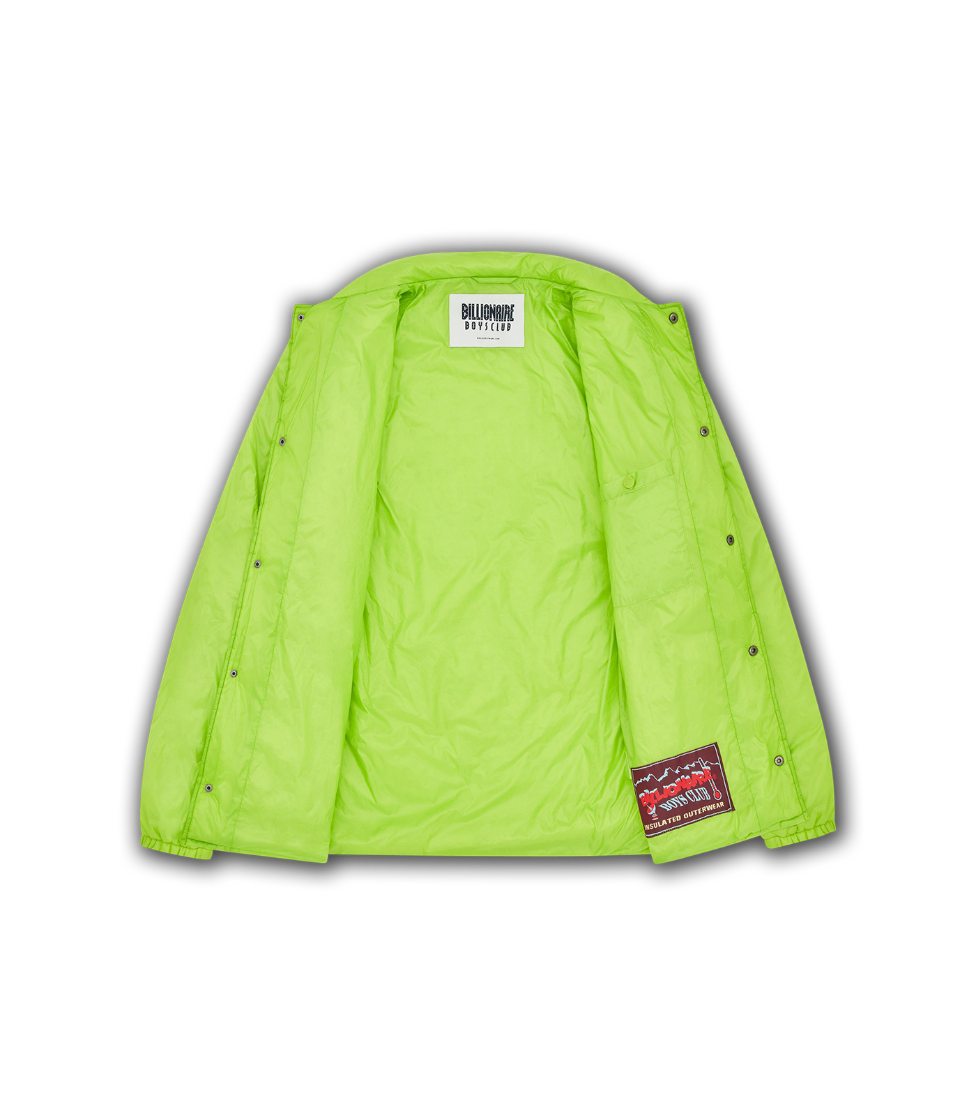 PADDED COACH JACKET - LIME