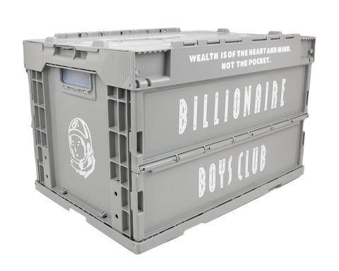 Billionaire Boys Club STORAGE CRATE - GREY