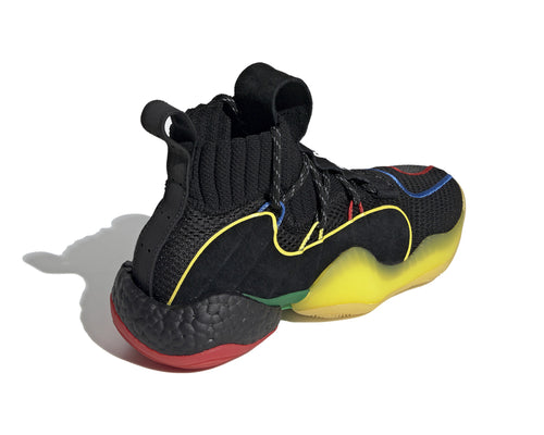 CRAZY BYW LVL X - BLACK/GREEN/YELLOW