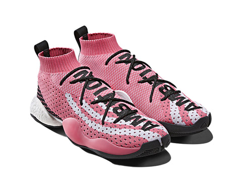 ADIDAS ORIGINALS = PHARRELL WILLIAMS CRAZY BYW LVL X - PINK