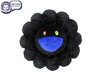 MURAKAMI MURAKAMI FLOWER CUSHION 1M - BLACK