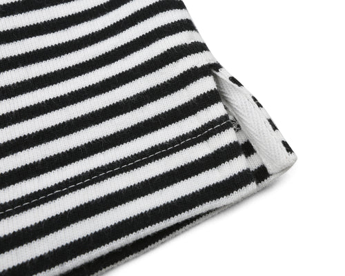 SMALL STRIPE L/S T-SHIRT - BLACK