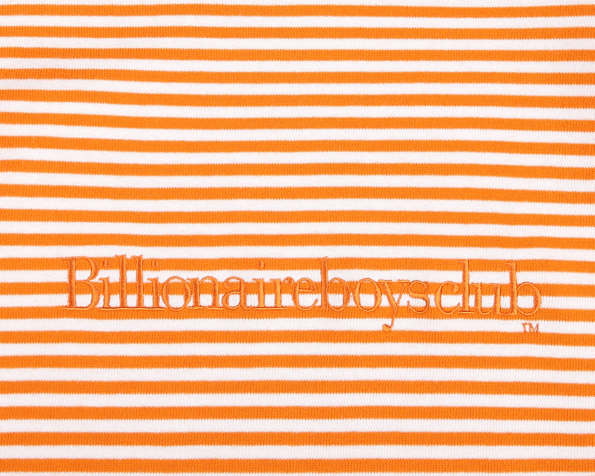 SMALL STRIPE L/S T-SHIRT - ORANGE