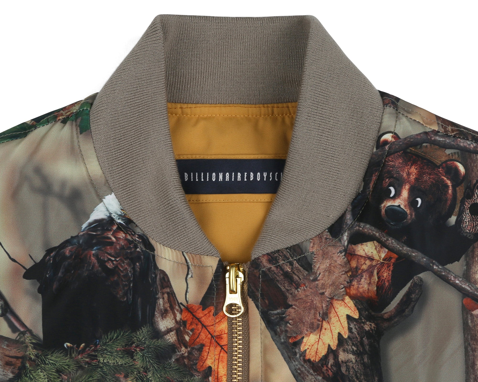TREE CAMO REVERSIBLE VEST- BEIGE