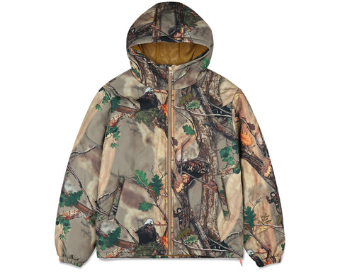Billionaire Boys Club Fall '19 TREE CAMO PADDED ZIP JACKET - BEIGE
