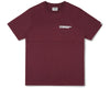 Billionaire Boys Club Fall '19 ROBOTIC LOGO S/S T-SHIRT - BURGUNDY