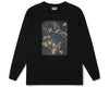 Billionaire Boys Club Fall '19 TREE CAMO SWATCH L/S T-SHIRT - BLACK