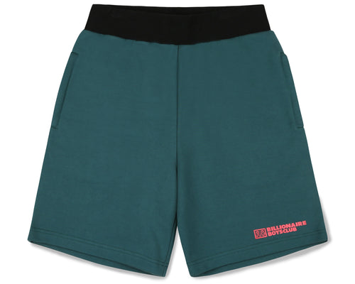 ROBOTIC LOGO SWEATSHORT - GREEN