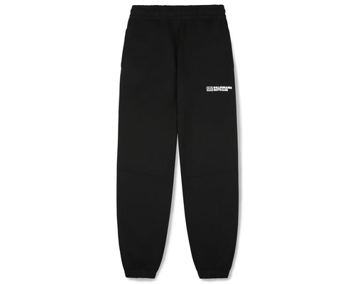 ROBOTIC LOGO PANELLED SWEATPANT - BLACK