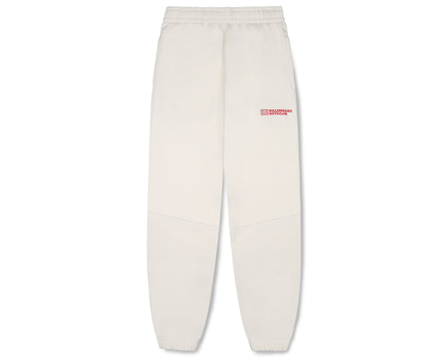 ROBOTIC LOGO PANELLED SWEATPANT - BONE