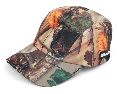 TREE CAMO RUNNING CAP - BEIGE