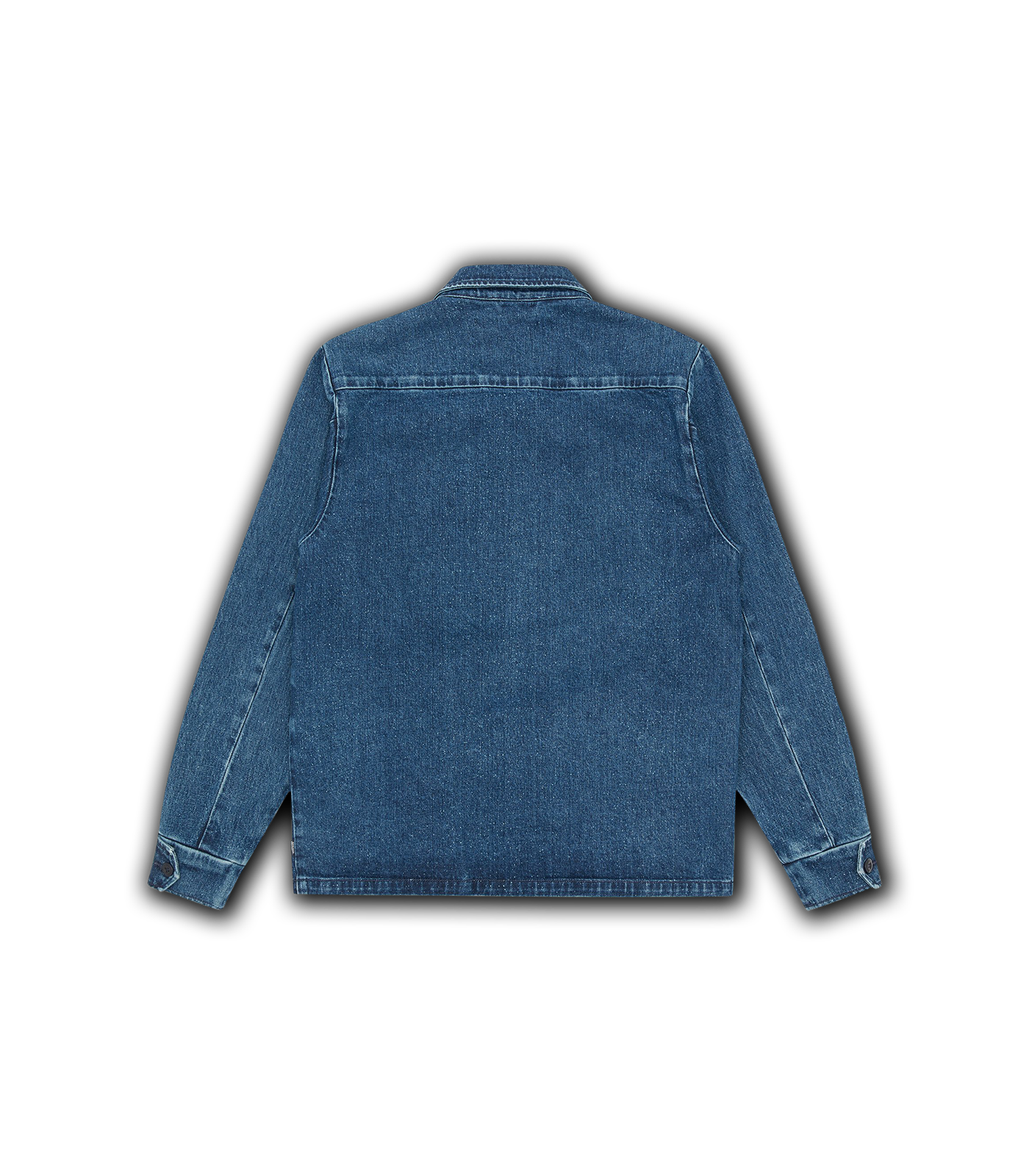 DENIM JUNGLE JACKET - BLUE