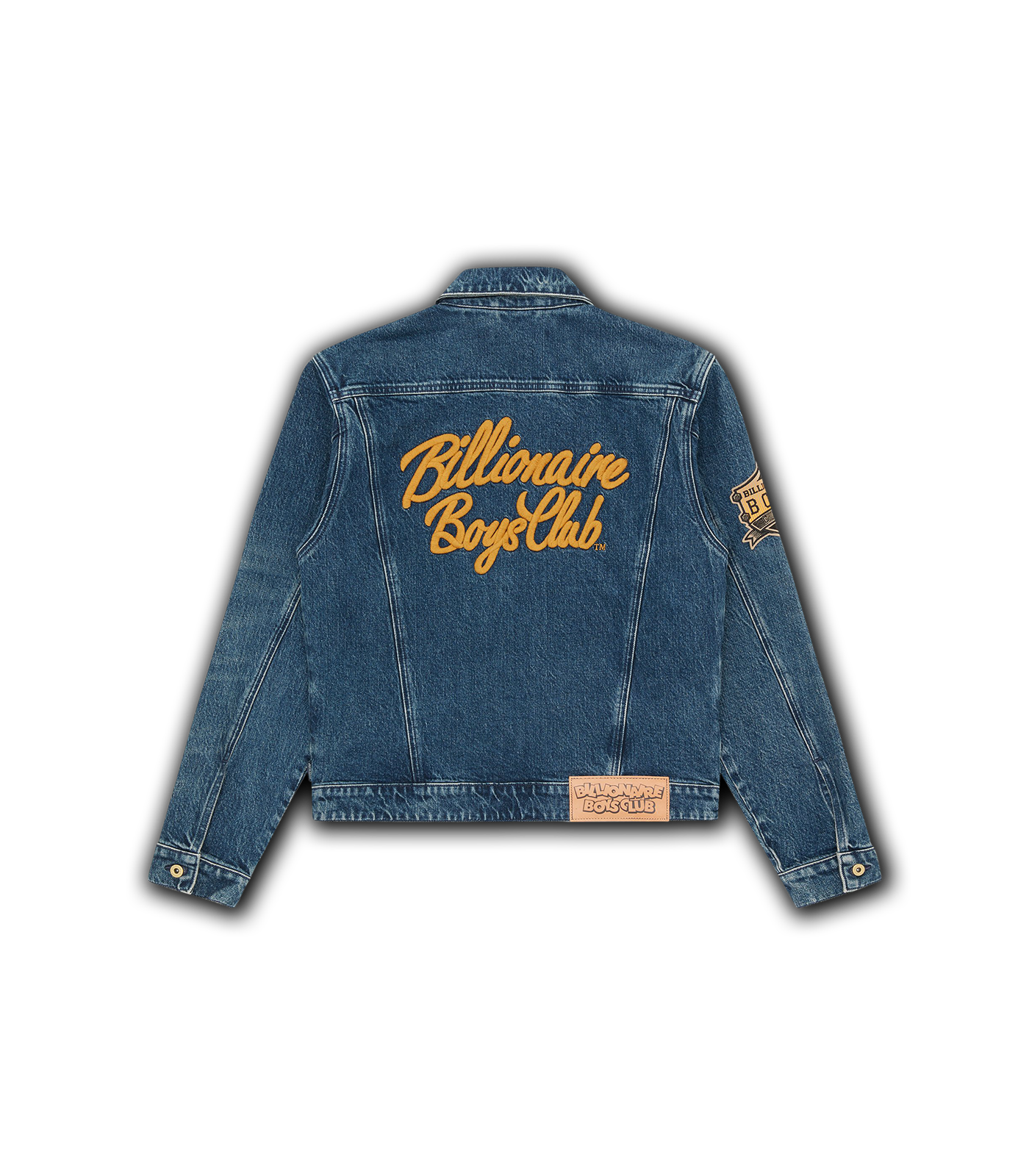 ZIP DENIM JACKET - BLUE