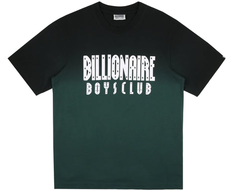 Billionaire Boys Club Pre-Spring '19 DIP DYE STRAIGHT LOGO T-SHIRT - GREEN