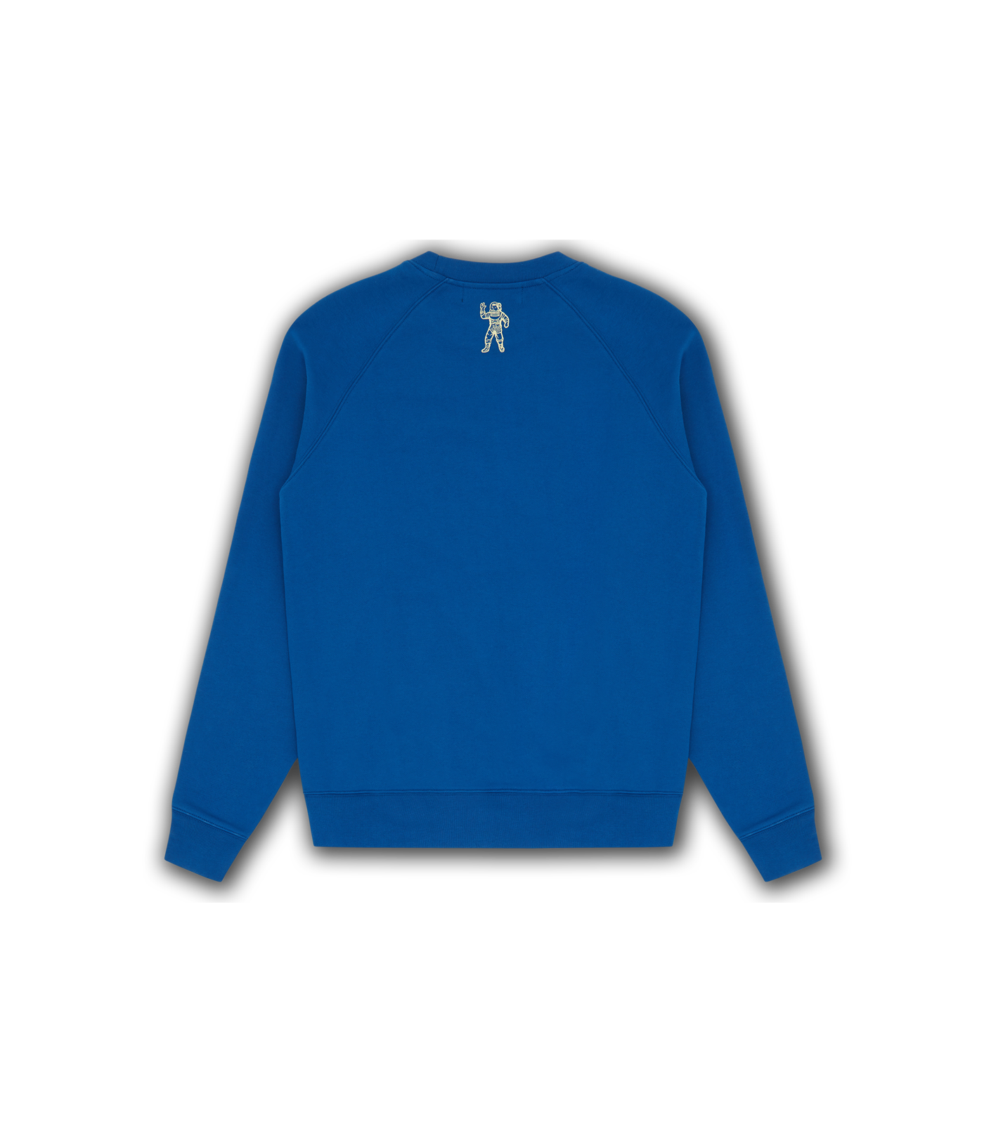 EMBROIDERED LOGO CREWNECK - BLUE