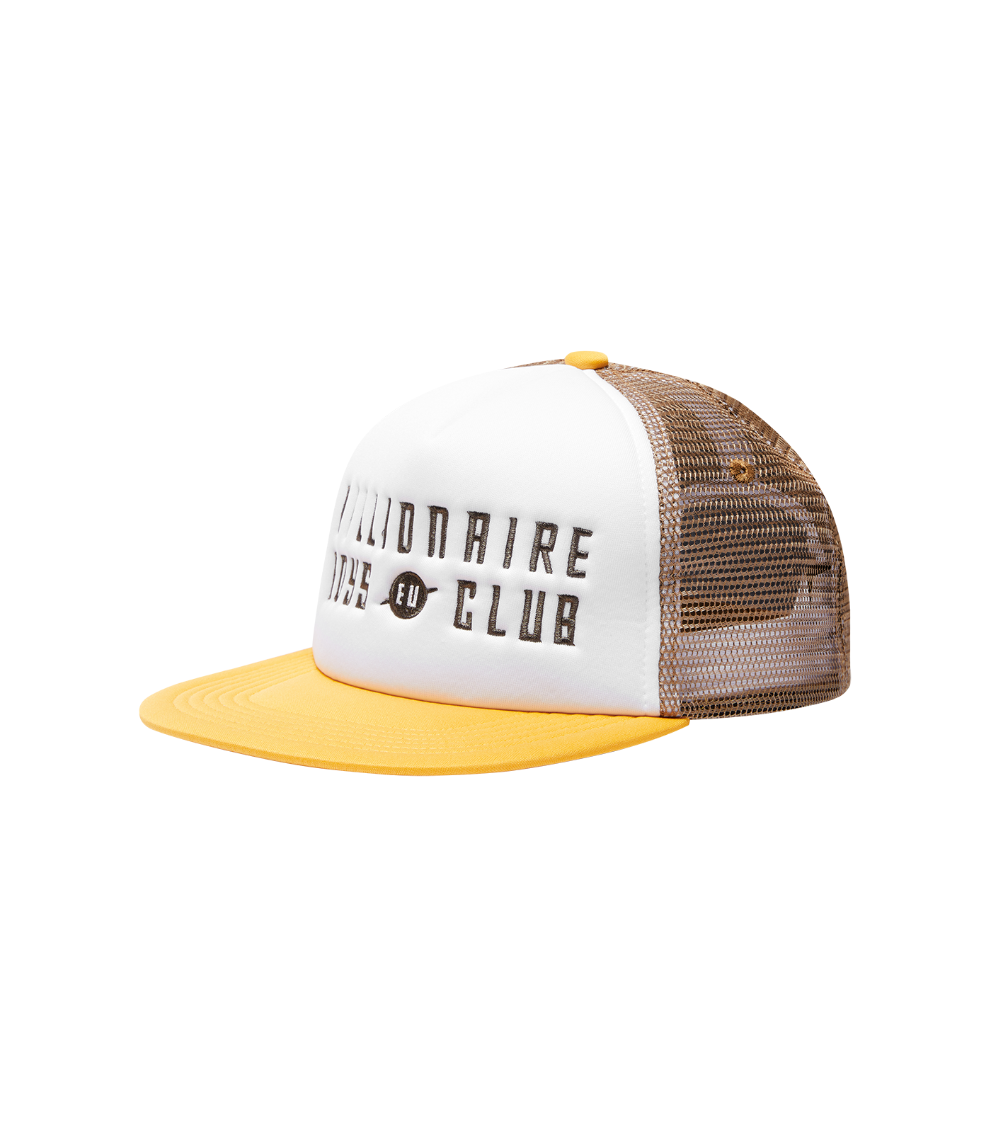 EU LOGO TRUCKER CAP - YELLOW