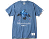 BBC X FDMTL BIRD T-SHIRT - BLUE