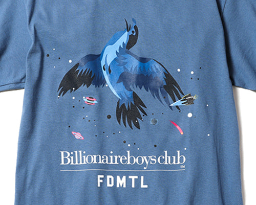BIRD T-SHIRT - BLUE