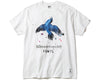 BBC X FDMTL BIRD T-SHIRT - WHITE