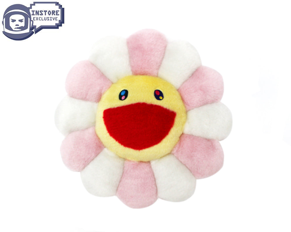 MURAKAMI FLOWER CUSHION 60CM - PINK/WHITE