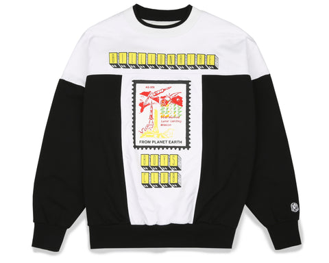 Billionaire Boys Club Fall '19 FROM PLANET EARTH CREWNECK - BLACK