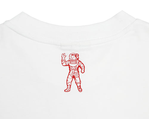 FROM PLANET EARTH PATCH S/S T-SHIRT - WHITE
