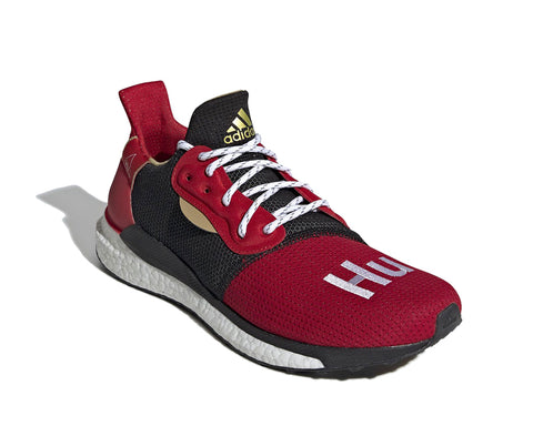 ADIDAS ORIGINALS = PHARRELL WILLIAMS SOLARHU CNY GLIDE - RED
