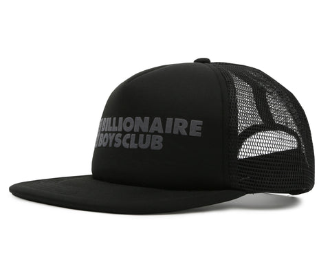 Billionaire Boys Club Fall '19 ROBOTIC LOGO TRUCKER CAP - BLACK