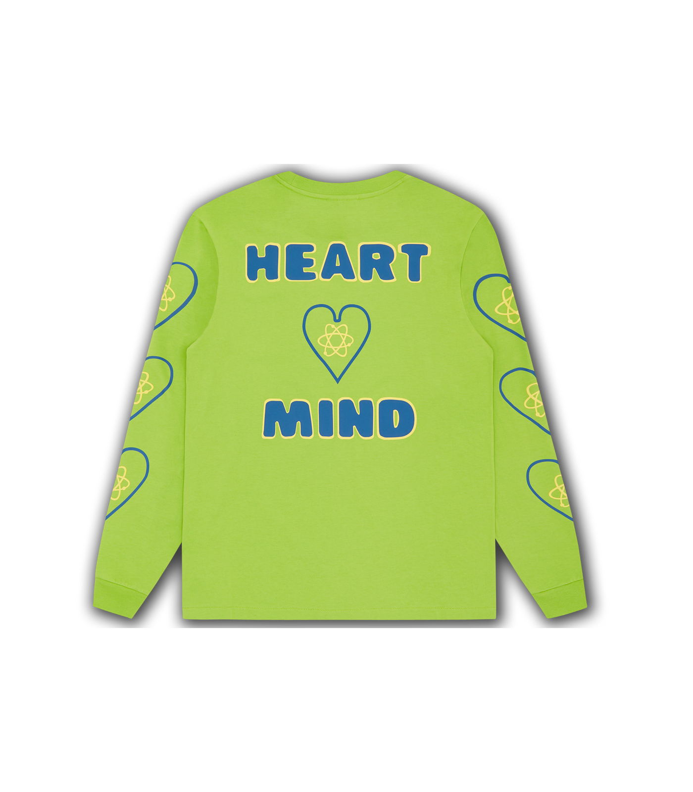 HEART & MIND L/S T-SHIRT - LIME