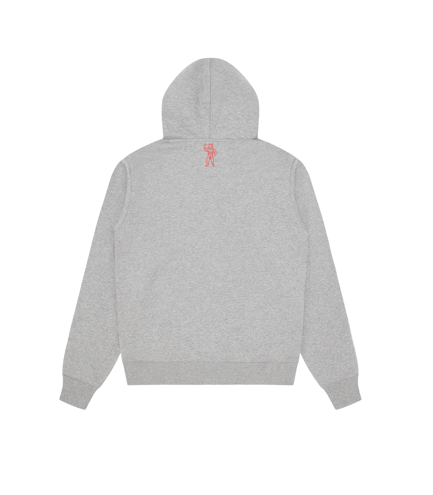 HEART & MIND FELT PATCH POPOVER HOOD - GREY