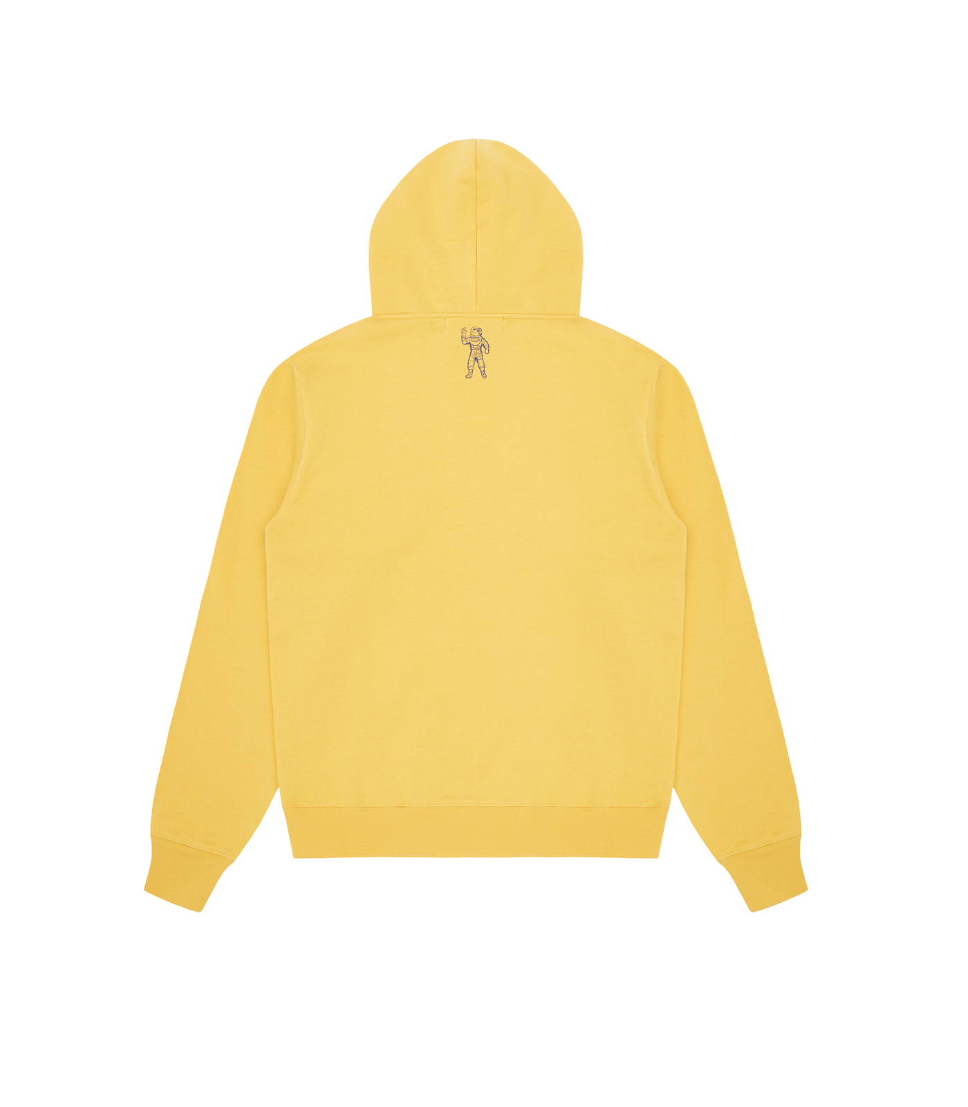 HEART & MIND FELT PATCH POPOVER HOOD - YELLOW