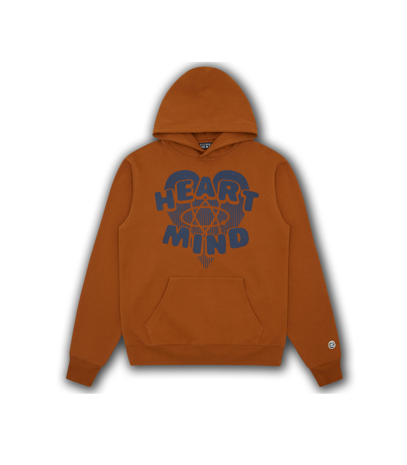 HEART & MIND POPOVER HOOD - BROWN