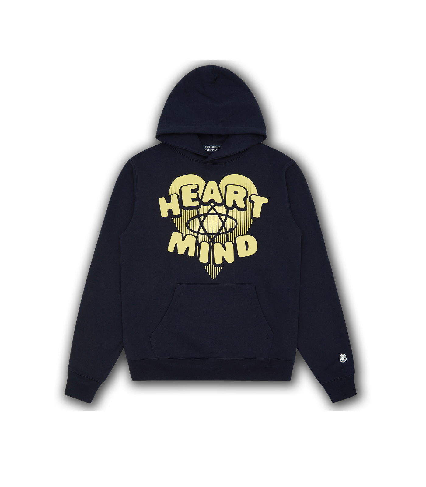 HEART & MIND POPOVER HOOD - NAVY