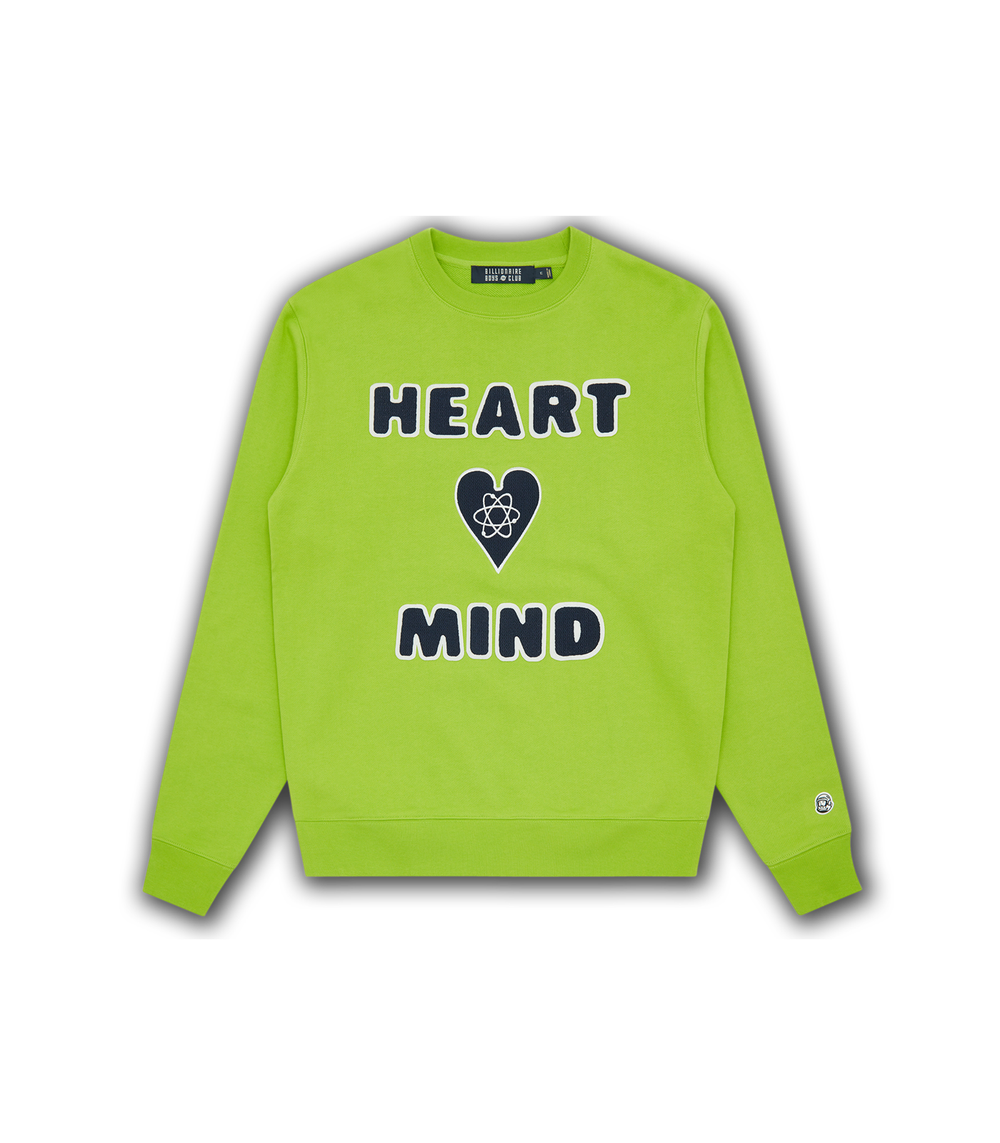 HEART & MIND CREWNECK - LIME