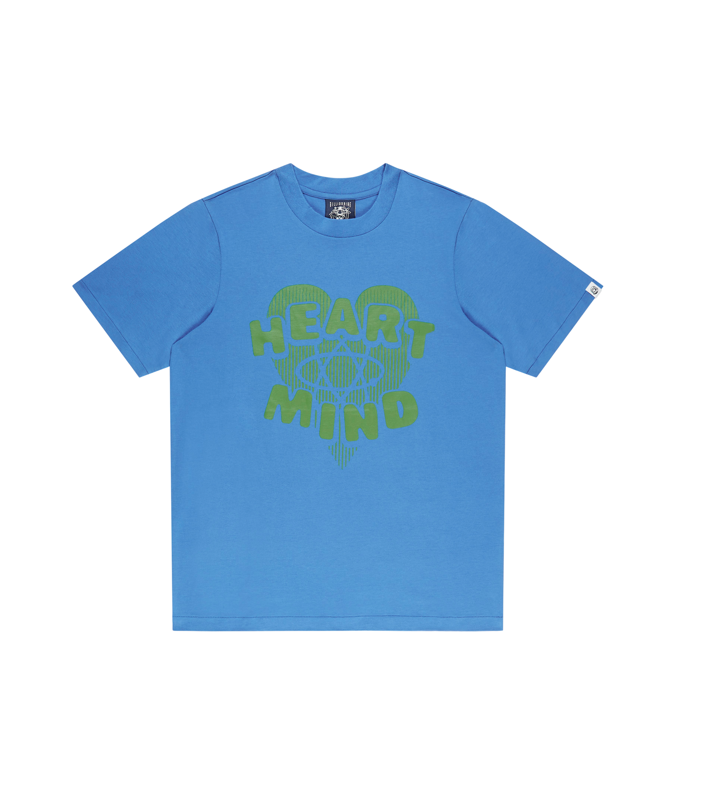 HEART & MIND GRAPHIC T-SHIRT - BLUE