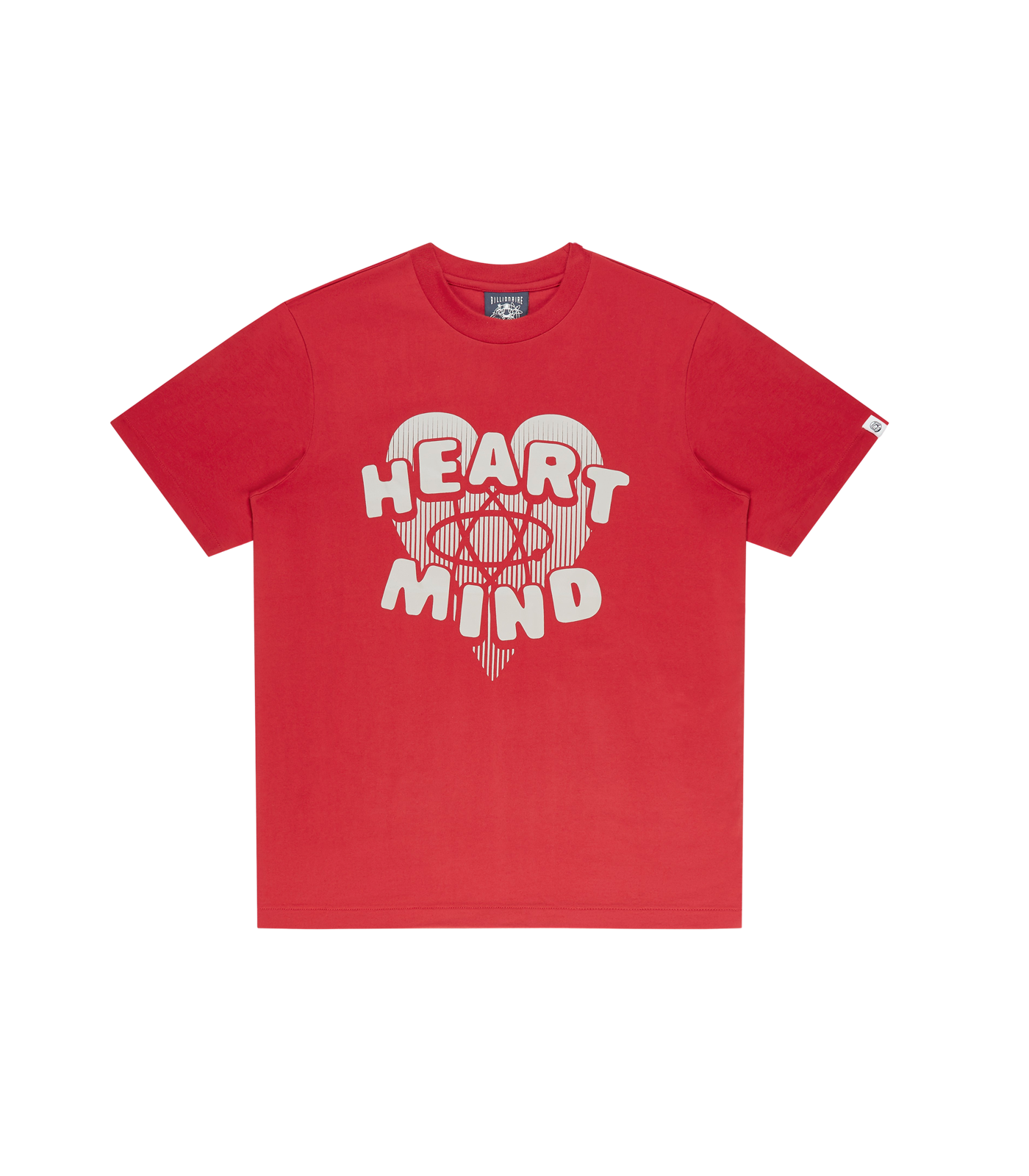 HEART & MIND GRAPHIC T-SHIRT - RED