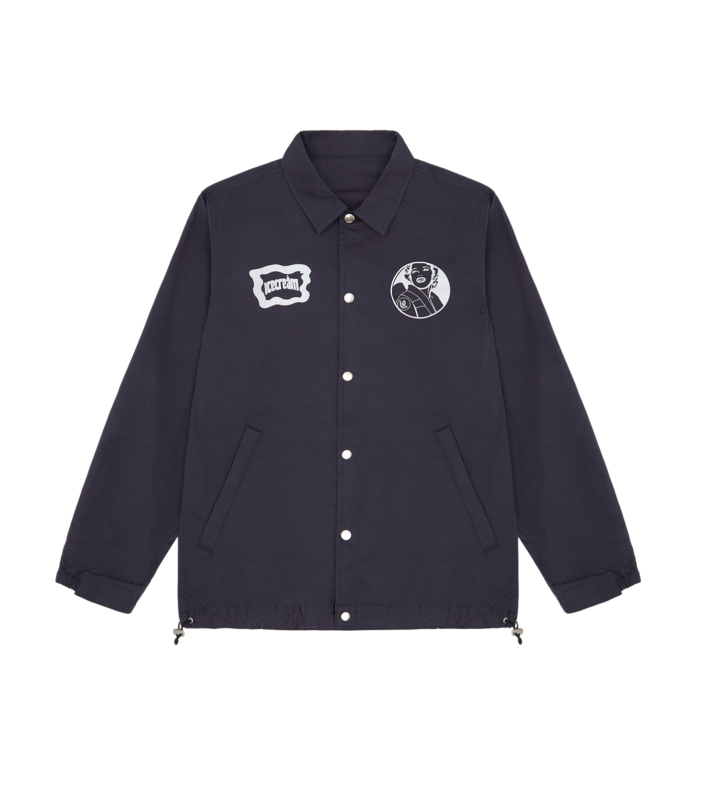 ICECREAM COACH JACKET - NAVY