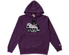 ICECREAM OWL MASCOT HOODIE - PURPLE