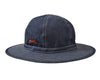 ICECREAM ROUND DENIM BOONIE HAT - INDIGO