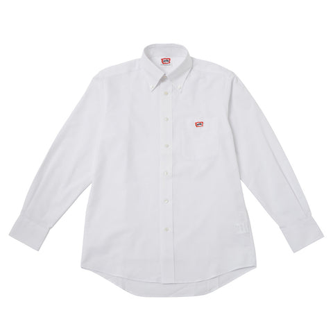 BBCICECREAM One Point Oxford Shirt - White