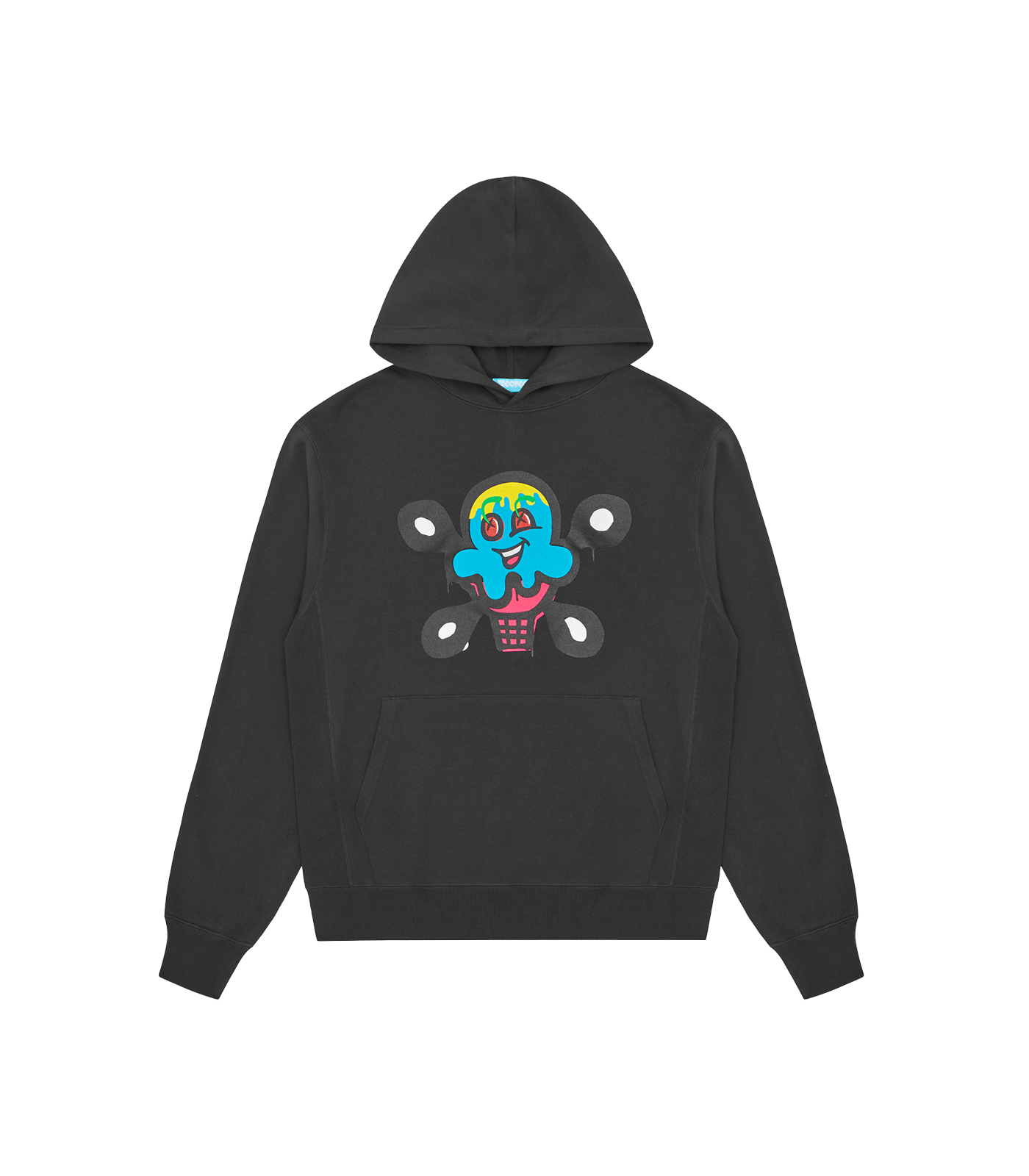CONE 1 HOODIE - CHARCOAL