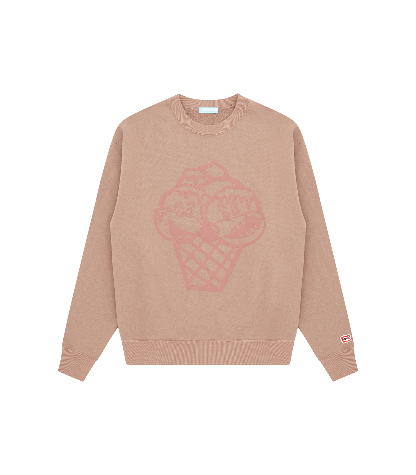 MONSTER OVERDYED SWEATSHIRT - FAWN