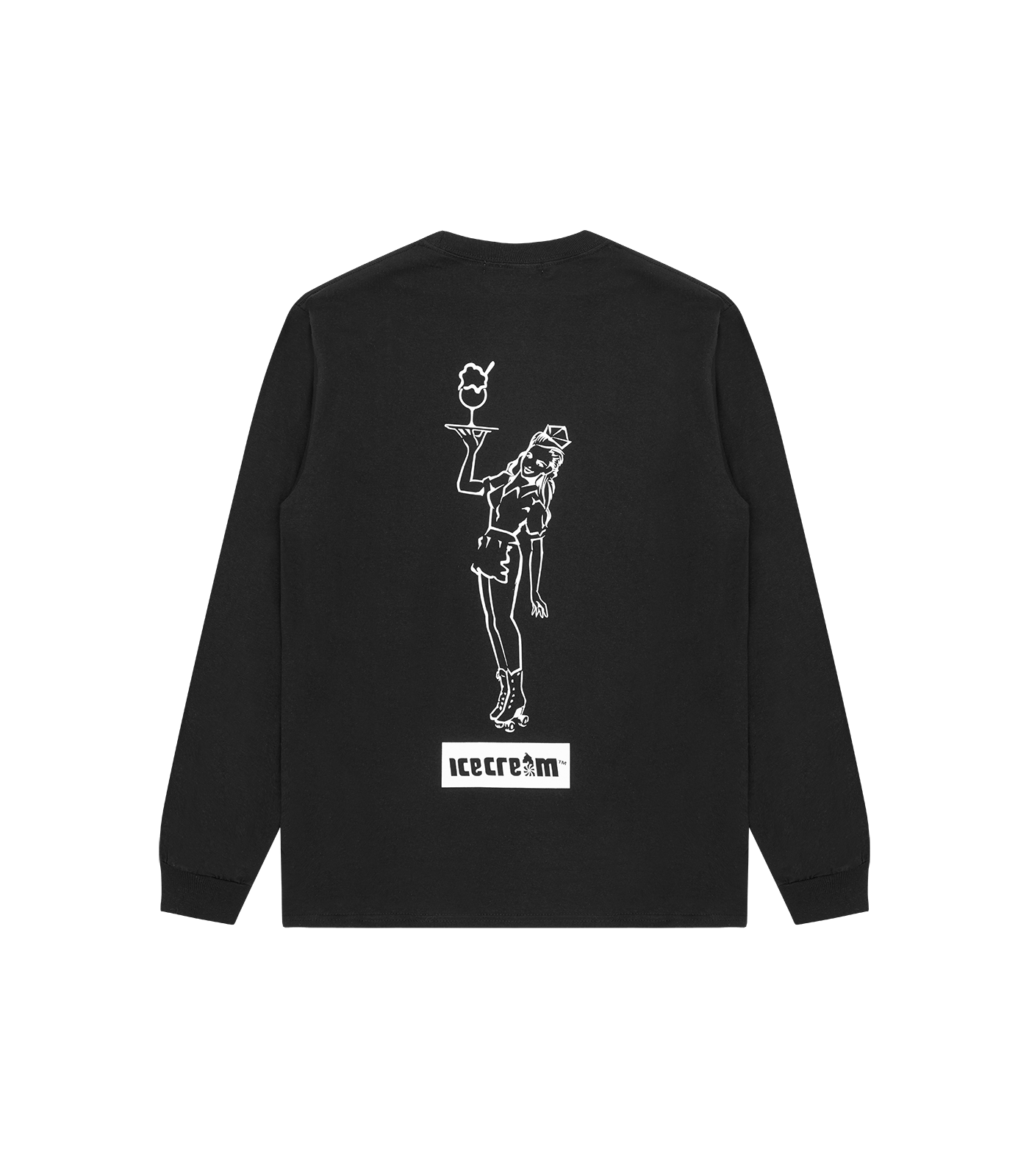 CARHOP L/S T-SHIRT - BLACK