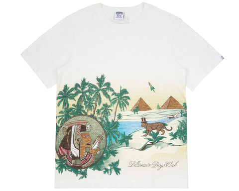 Billionaire Boys Club Pre-Fall '18 LANDSCAPE SCENERY SLUB T-SHIRT - BONE